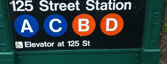 MTA Subway - 125th St (A/B/C/D) is one of Subway Stations.