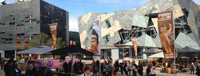 Federation Square is one of Around The World: SW Pacific.