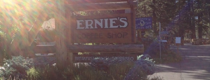 Ernie's Coffee Shop is one of South Lake Tahoe.