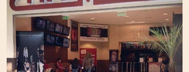 Cinemark is one of Cines en Santiago.