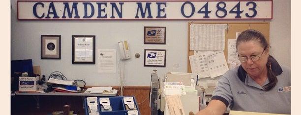Camden post office is one of Camden Tips.