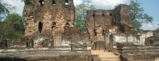 Polonnaruwa is one of UNESCO World Heritage Sites (Asia).
