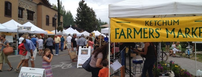 Ketchum Farmers Market is one of 5B.