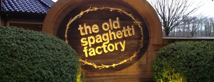The Old Spaghetti Factory is one of Food.