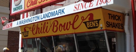 Ben's Chili Bowl is one of Best Burgers Around the Country.