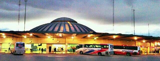 Terminales de Autobuses y Aeropuertos