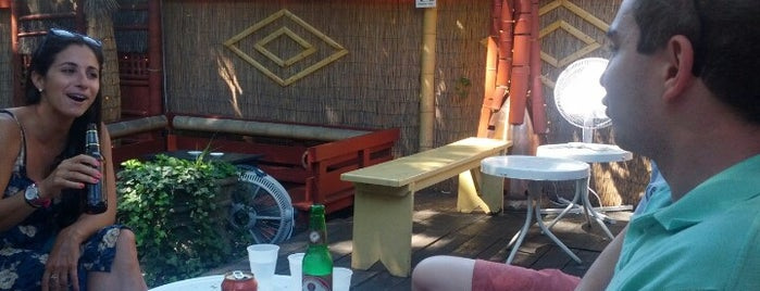 Zombie Hut is one of Beer Gardens-To-Do List.