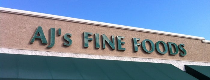 AJ's Fine Foods is one of the rose.