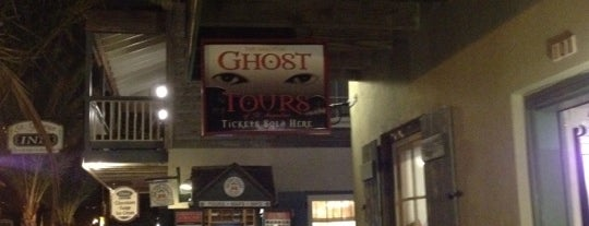 Ghost Tours of St Augustine is one of St. Augustine Tourist Spots to See.
