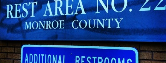 Monroe County Rest Area No. 22 is one of Places checked in too.