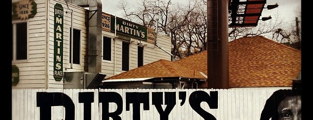Dirty Martin's Place is one of 2013 Austin Chronicle First Plates Awards.