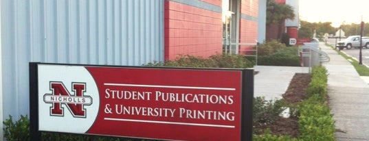 Student Publications & University Printing is one of Nicholls State University.
