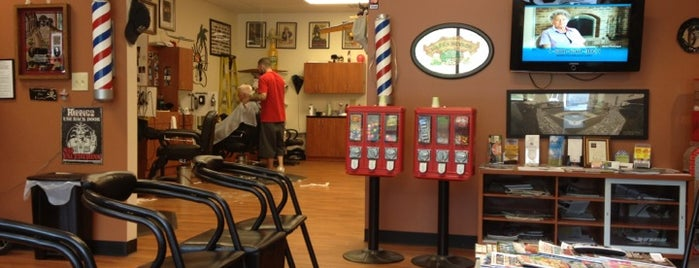 Dave's Barber is one of Woodstock.