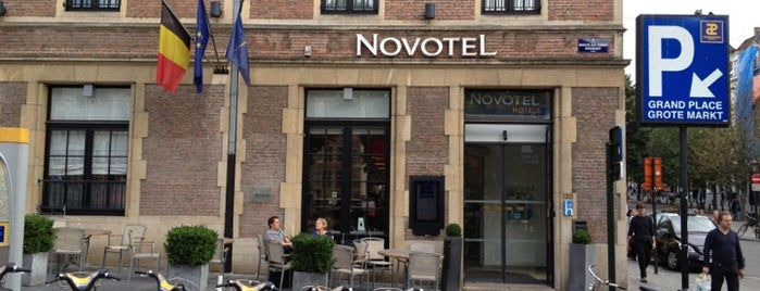Novotel Brussels off Grand' Place is one of Hotels.