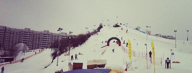 Экстрим-парк Фристайл / Freestyle Extreme Park is one of Склоны.