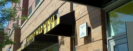 Buffalo Wild Wings is one of Campus Eats.