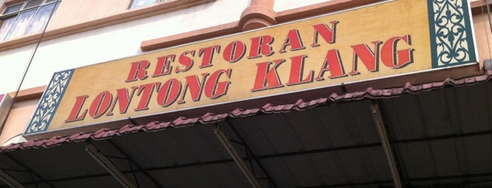 Restoran Lontong Klang is one of makan sedap.