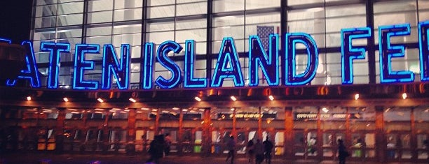 Staten Island Ferry - Whitehall Terminal is one of NYC.