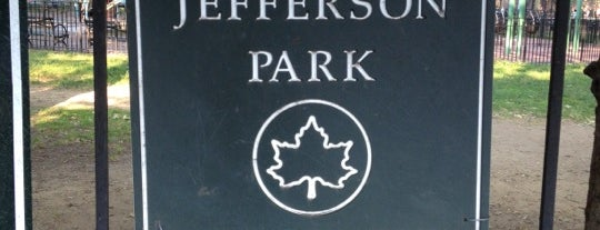 Thomas Jefferson Park is one of NYC Public WiFi Hotspots.