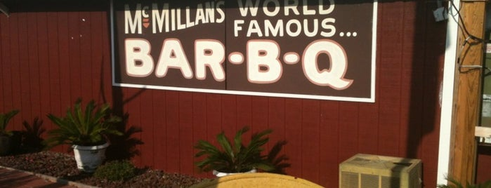 McMillan's World Famous BBQ is one of 2013 TMBBQ Top 50.