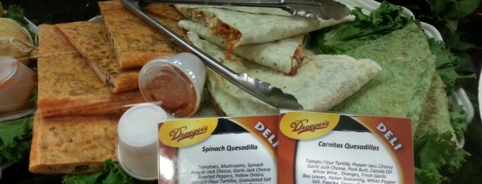 Draeger's Market is one of Where to find Sauce Goddess in California.