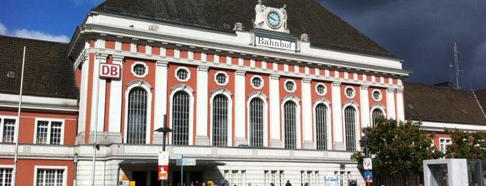 Bahnhof Hamm (Westfalen) is one of DB ICE-Bahnhöfe.