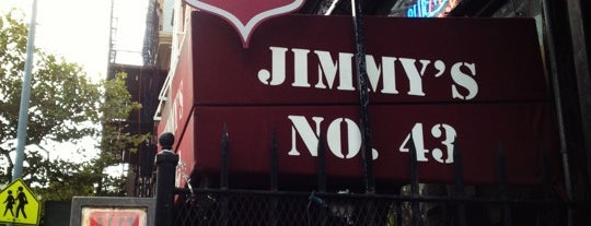 Jimmy's No. 43 is one of TONY Best Spring Bars in East Village.