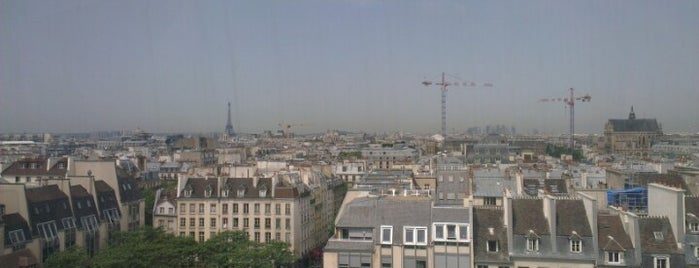 Pompidou Centre – National Museum of Modern Art is one of Fred's Paris list.