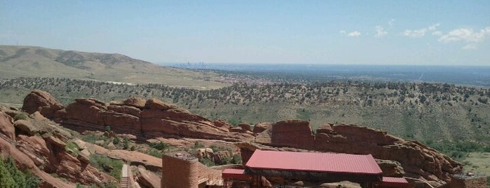 Red Rocks Park & Amphitheatre is one of Flying High in Colorado.