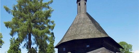 Kostol Všetkých svätých is one of UNESCO Slovakia - kultúrne/prírodné pamiatky.
