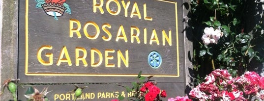 International Rose Test Garden is one of Oregon.