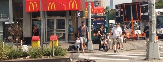 McDonald's is one of Food NY 1.