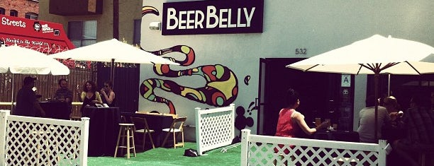 Beer Belly is one of The Best Sports Bars in L.A. to Watch Football.