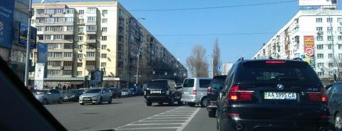 Lesya Ukrainka Square is one of Площади города Киева.