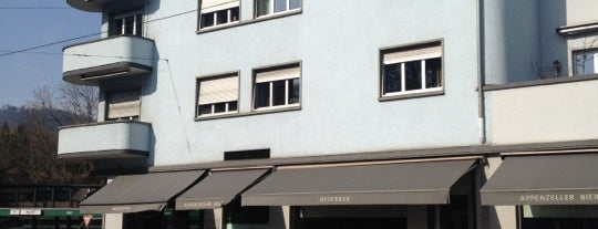 Bederbar is one of Approved Places in and around Zurich.