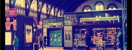 Copenhagen Central Station (ZGH) is one of I Love Copenhagen! #4sqcities.