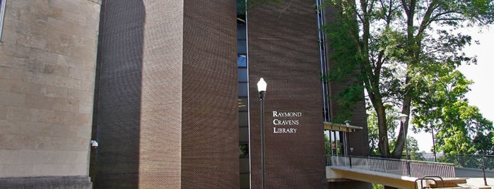 Raymond Cravens Library is one of Campus Tour.