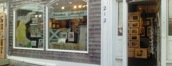 Norma Glamp's is one of Provincetown.