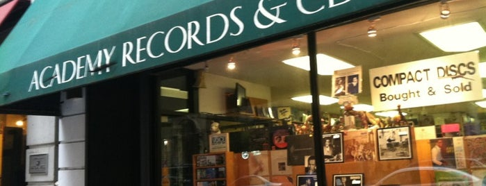 Academy Records & CDs is one of Record Shop.