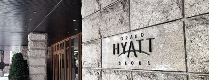 Grand Hyatt Seoul is one of A list.