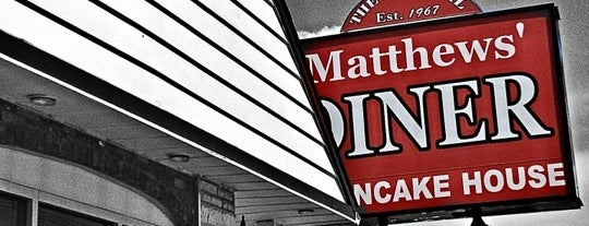 Matthews Diner is one of Diners I want to go.