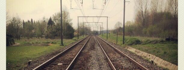Station Viane-Moerbeke is one of Bijna alle treinstations in Vlaanderen.