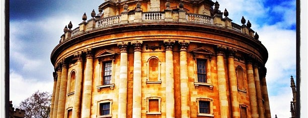 University of Oxford is one of Inspired locations of learning.