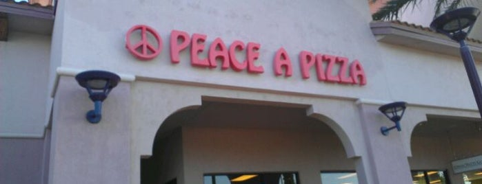 Peace A Pizza is one of Peewee's Big Ass South Florida Food Adventure!.