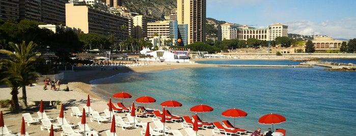 Plage du Larvotto is one of Monaco.