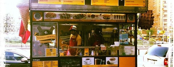Wafels & Dinges - Herald Square is one of Free/dirt cheap NYC places to take out-of-towners.