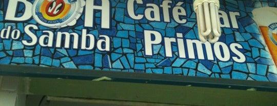 Café Bar Primos is one of Curtindo a Noite Carioca.