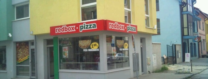 REDBOX Pizza is one of Prešov - The Best Venues #4sqCities.