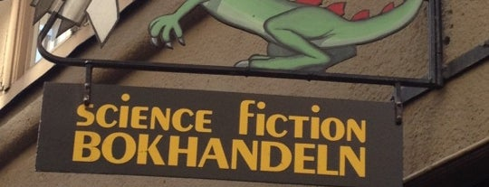 Science Fiction Bokhandeln is one of Prosume Stocholm.