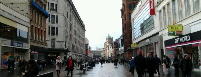 Argyle Street is one of Glasgow I was there.